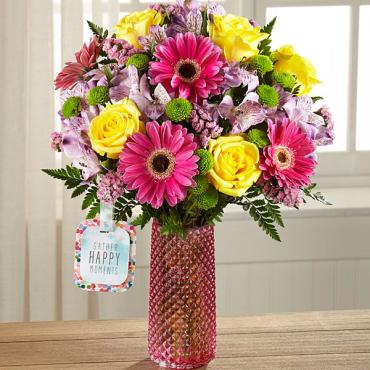 Happy Moments™ Bouquet by Hallmark