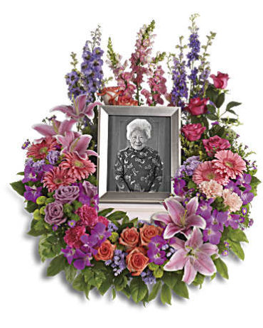 Wreath with picture
