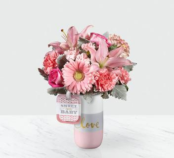 Sweet Baby Girl™ Bouquet by Hallmark